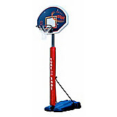 Sure Shot heavy duty portable basketball with rectangular shaped backboard