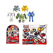 Blind Bag Bundle Marvel Figure Mascots Keychain Power Rangers And Transformers Part 2 Blind Bags - 3 Items Supplied