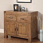 Hawkshead Santana 2 Drawer & 2 Door Dresser in Rich Patina
