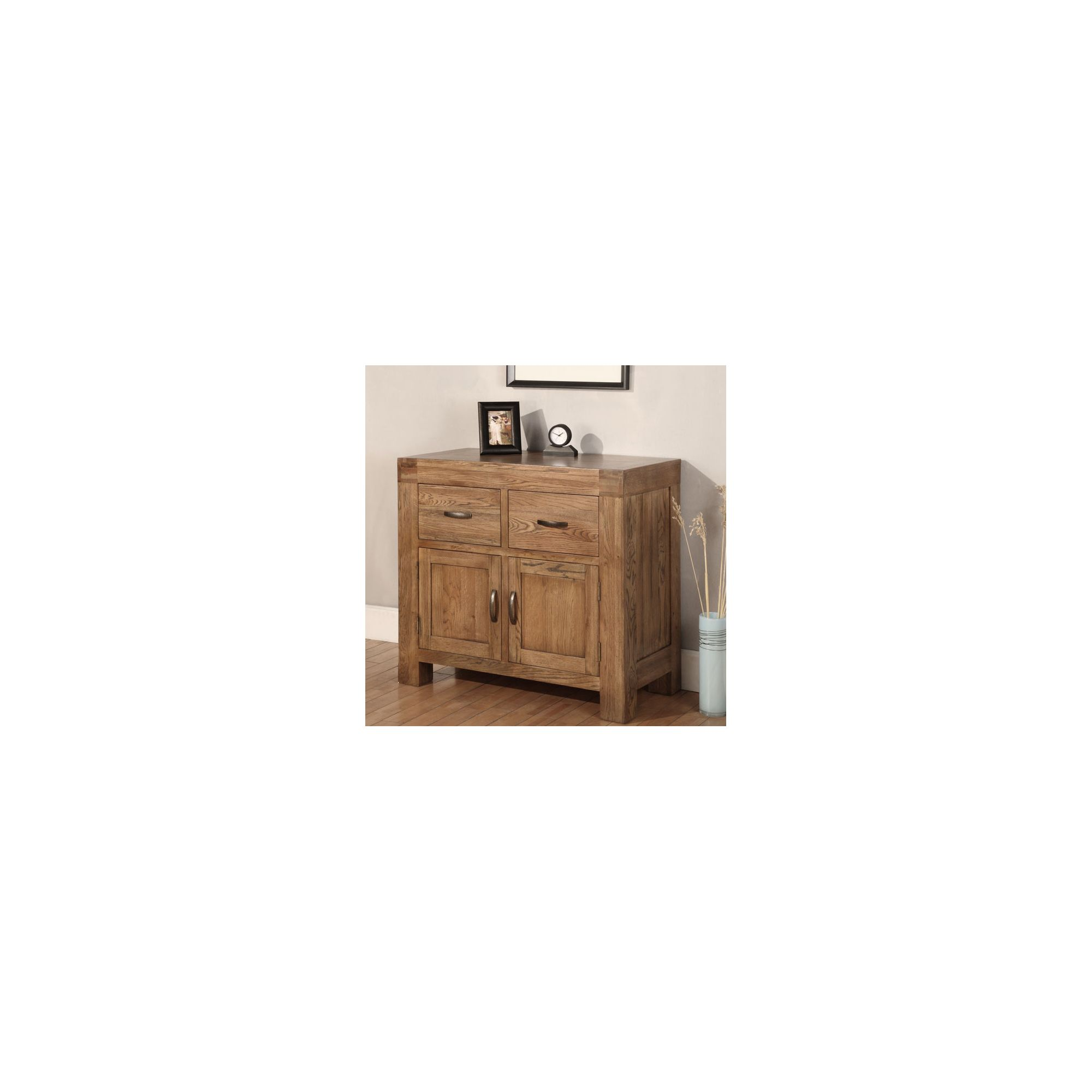Hawkshead Santana 2 Drawer & 2 Door Dresser in Rich Patina at Tesco Direct
