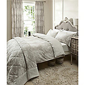 Catherine Lansfield Versaille Super King Size Cotton Quilt Set Multi