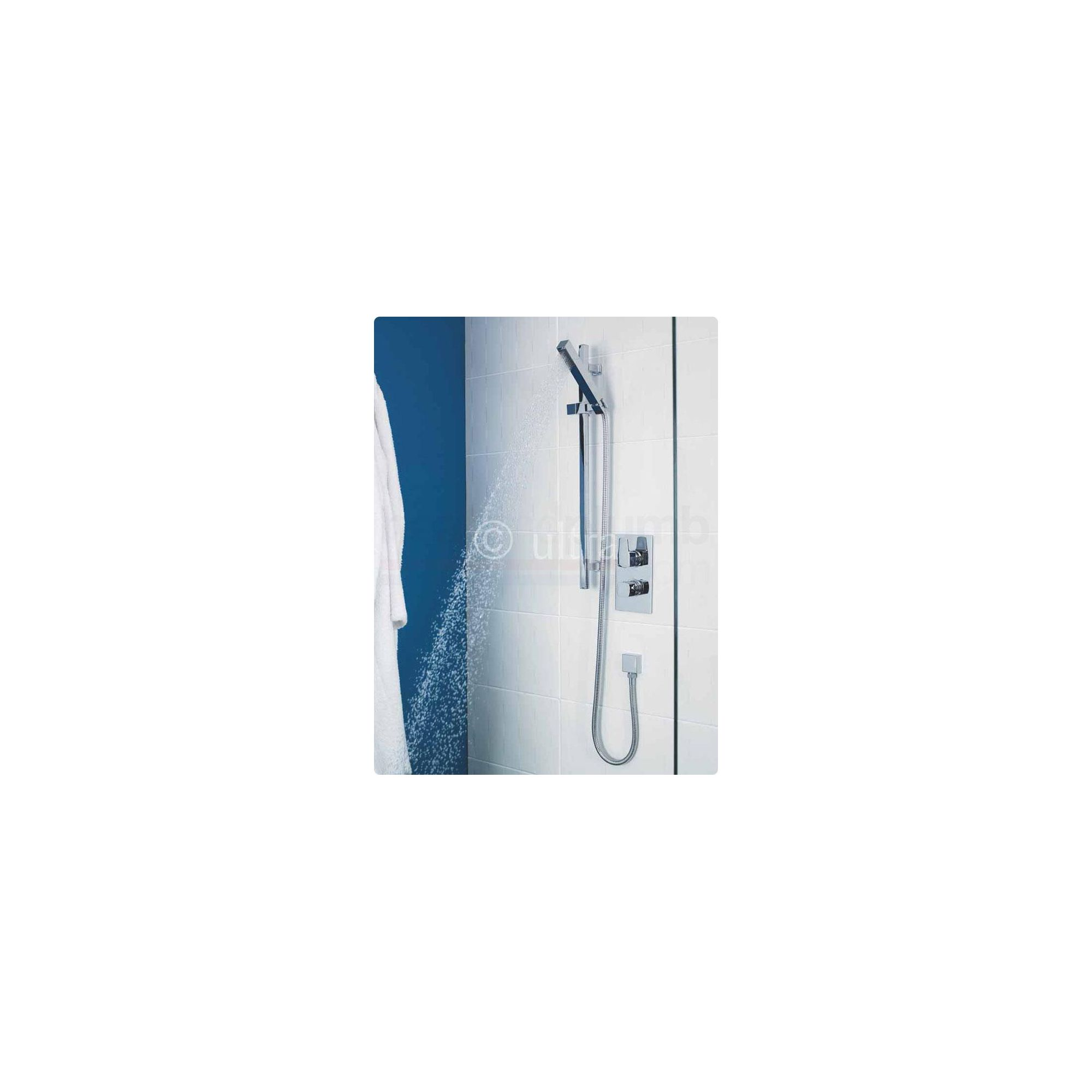 Ultra Series 130 Twin Valve Complete Thermostatic Mixer Shower at Tescos Direct
