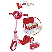 Littlest Learners Caddy Baby Doll Scooter Ride-On