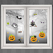 Halloween Door & Window Decs Family Friendly Window Decorations