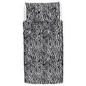 Tesco Basics Animal Print Duvet Cover And Pillowcase Set, Single