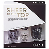 OPI Sheer to the top opi nail set