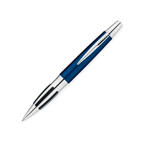 Cross Contour Blue/Chrome Ball Pen