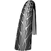 Schwalbe Road Plus Tyre: 700c x 28mm Reflex Wired. HS 413, 28-622, PunctureGuard, Active Line