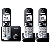 Panasonic KX-TG6813 DECT Cordless Telephone LCD Backlit Speaker (Trio-Pack)
