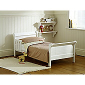 Saplings Poppy Junior Bed Frame - White