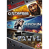 Action Triple Boxset - Osombie, Hirokin, Battle Earth