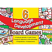 Smart Kids 6 Language Development Board Games