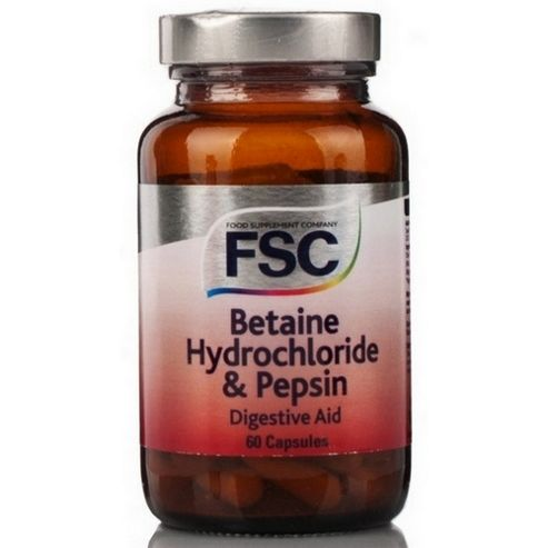 Fsc Betaine Hydrochloride 60 Capsules