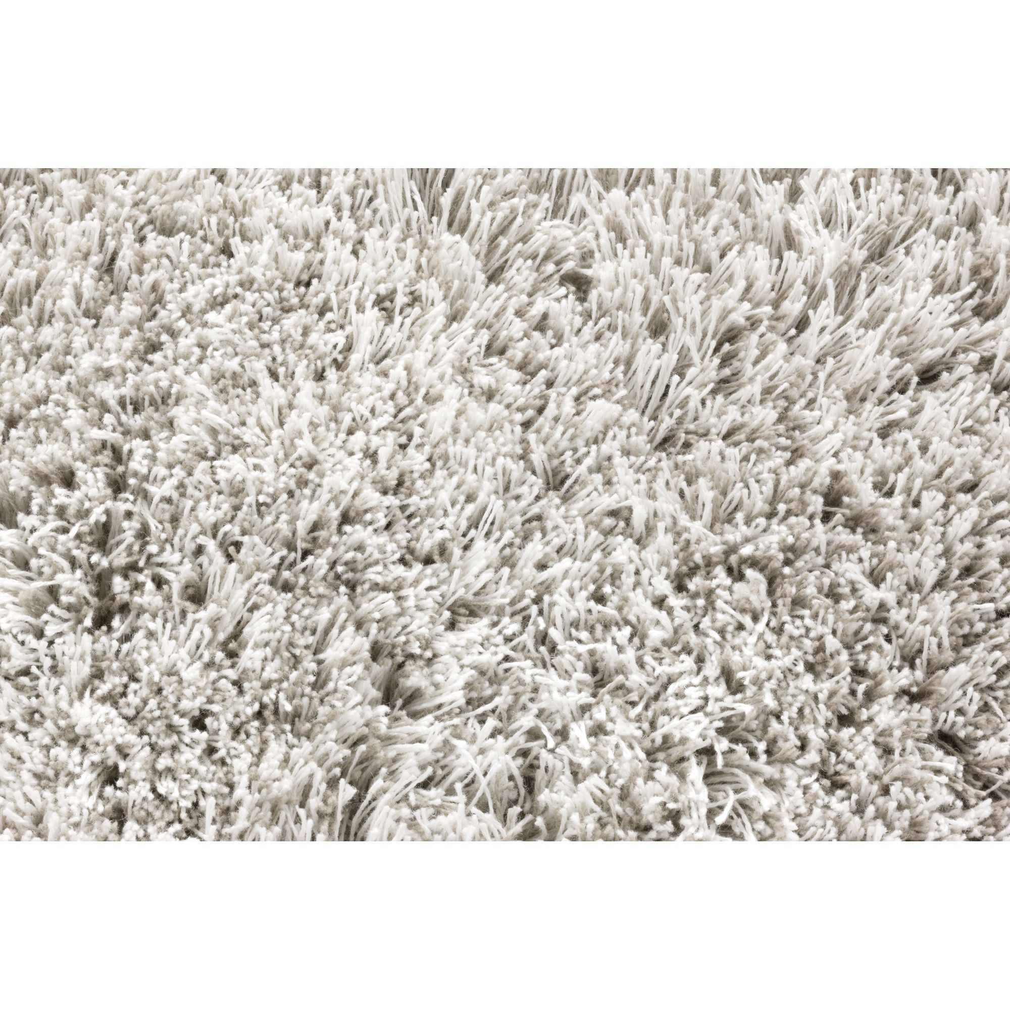 Linie Design Timeless White Shag Rug - 240cm x 170cm at Tesco Direct