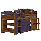Maximus Mid Sleeper Set 1 Antique With Lilac Details