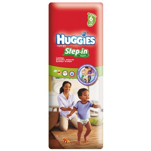 Huggies Step-In Economy Size 6 34