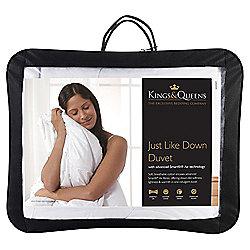 Kings & Queens Superking Duvet 4.5 Tog - Just Like Down
