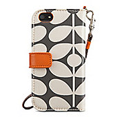 Orla Kiely Optic Stem Wristlet Case with Wallet for iPhone 5