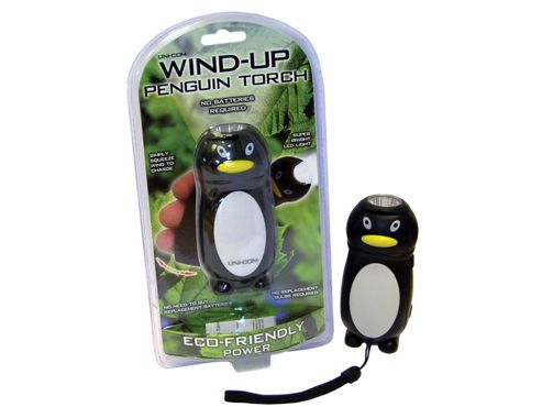 Unicom 57154 Wind Up Penguin Torch