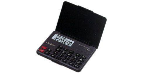 Casio LC160 Pocket Calculator Blue/Black