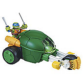 Turtles Deluxe Half-Shell Heroes Stealth Bike with Racer Raph