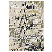 Angelo Swing Beige Knotted Rug - 240cm H x 170cm W (7 ft 10.5 in x 5 ft 7 in)