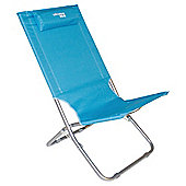 Yellowstone Lounger Folding Beach Chair, Blue