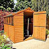 BillyOh 20 7 x 6 Rustic Overlap Apex Shed