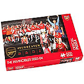 Arsenal Invincibles 2003 - 04 500 Piece Official Puzzle