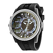 Police Tactical Mens Silicone Multi Functional Watch 14249JPBS-61