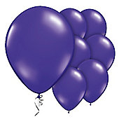 Purple Quartz Balloons - 9' Jewel Valved Latex Balloon (10pk)