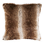 F&F Home Arctic Fox Faux Fur Cushion