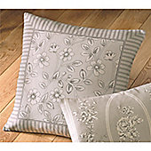 Dreams n Drapes Malton Cushion Cover - Slate 43x43cm