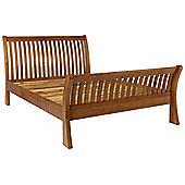 Ametis Brooklyn BLBD4 Rustic Oak 4 6 Double Bed Frame