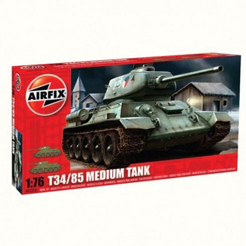 T34/85 Medium Tank (A01316) 1:76