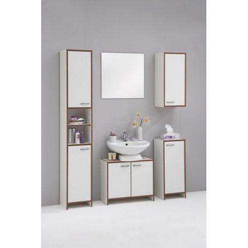 Buy sevilla bathroom furniture set in plum tree and white - Factory sofas sevilla ...