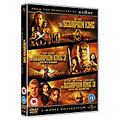 The Scorpion King 1-3 Box Set (DVD)