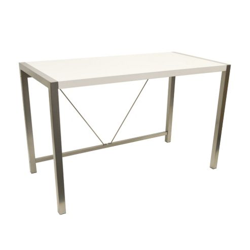 Buy apollo home office computer desk white from our office desks tables range tesco - Tesco office desk ...