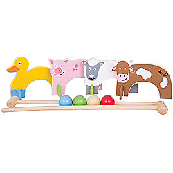 Bigjigs Toys Farm Animal Croquet