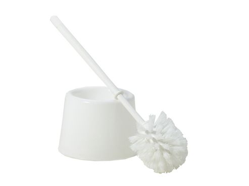 Whatmore 10590 Standard Toilet Brush Set White