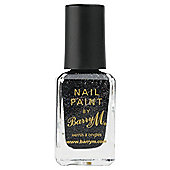 Barry M Nail Paint 333 - Black Multi Glitter