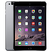 Apple iPad mini 3, 128GB, WiFi & 4G LTE (Cellular) - Space Grey