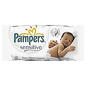 Pampers Sen Baby Wipes Travel Pack 12