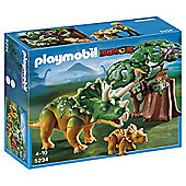 Playmobil 5234 Triceratops with baby
