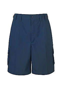 Trespass Mens Gally Multi Pocket Cargo Shorts - Navy