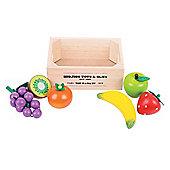 Bigjigs Toys Fruit Market Crate