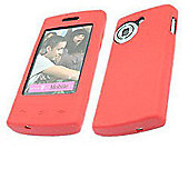 iTALKonline 15691 SoftSkin Red Silicone Case - LG GM360 Viewty Snap