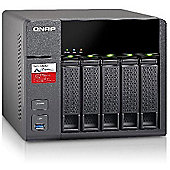 QNAP TS-531P-2G 5-Bay NAS Enclosure with 2GB RAM 10GbE readiness with quad LAN ports and SSD cache Real-time Remote Replication (RTRR) Qsirch