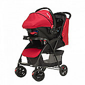 Obaby Monty Travel System - Black & Red