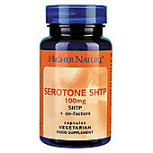 Higher Nature Serotone 5Htp 100Mg 30 Veg Capsules